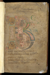 Psalm 1, in a Psalter With Old English Translation